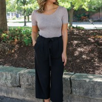 Flirting With Fate Pants - Black