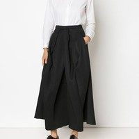 Micol Ragni Structured Pleat Skirt - H. Lorenzo - Farfetch.com