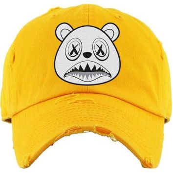 Ghost Baws Yellow Dad Hat