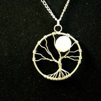 Tree of Life Necklace – Moonlight