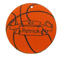Basketball  Personalized  Sports Ornament