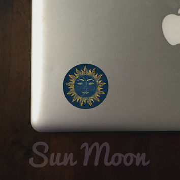 Sun Moon Sticker