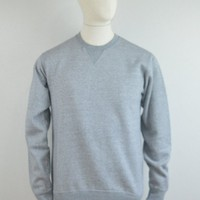 EDWIN Classic Crew Sweat - Mouline Grey