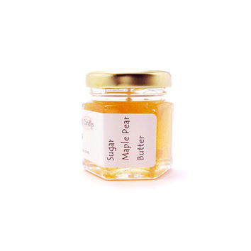 Small Candles Sugar Maple Pear Butter Scent Home Fragrance Mini Gift Just Because Gifts Gel Candle Scented New Home Interior Modern Design