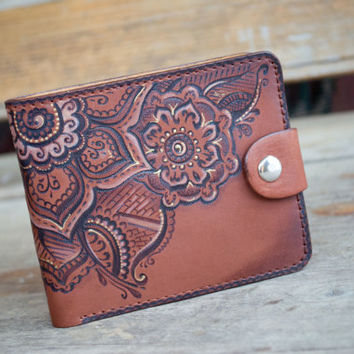 "Handmade Wallet ""East Spices"" 