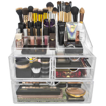 Sorbus Acrylic 4 Drawer Cosmetic Organizer & Reviews | Wayfair