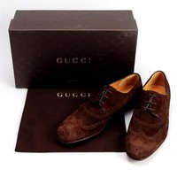 Gucci Suede Shadow Dress Shoe - Made In Italy - Summer Shops Clearance: Men's Shoes Starting At $12 - Modnique.com