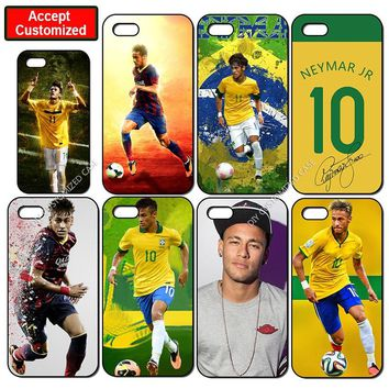 Neymar Mobile Phone Cover Case for iPhone 5 5S SE 6 6S 7 8 Plus X XS Max XR Samsung Galaxy Note 8 9 S6 S7 S8 S9 Edge Plus