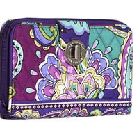 Vera Bradley Turn Lock Wallet Heather - Zappos.com Free Shipping BOTH Ways