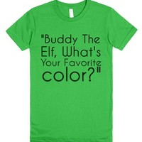 Buddy The Elf-Female Grass T-Shirt