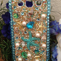 Samsung Galaxy S3 Beautiful Beach Bling Case