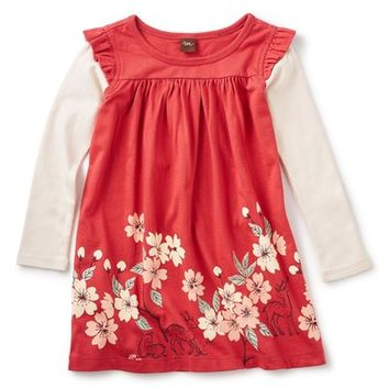 Tea Collection 'Nara - Double Decker' Layer Look Dress (Toddler Girls, Little Girls & Big Girls) | Nordstrom