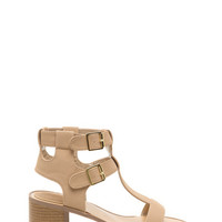 Level Up T-Strap Block Heels