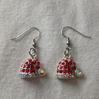Santa's Hat Earrings