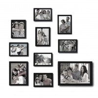 Adeco 10-Piece Collage Picture Frame