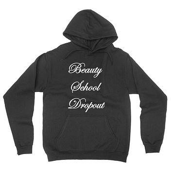 Beauty school dropout student gifts high school make up graphic hoodie