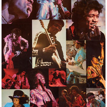 Jimi Hendrix Through the Years Poster 11x17