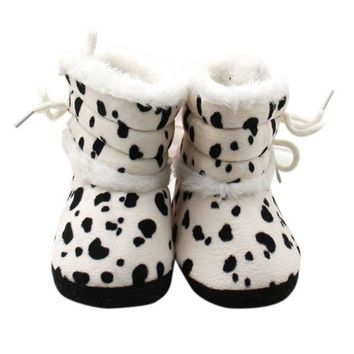 Cute Baby Moccasin Faillette Skid Resistant Fiiting Designs Strap Newbron Baby Soft Shoes