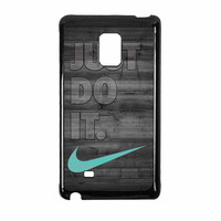 Nike Mint Just Do It Wooden Gray Samsung Galaxy Note Edge Case
