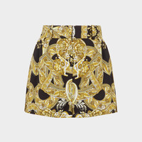 Versace Barocco Istante Shorts for Women | US Online Store