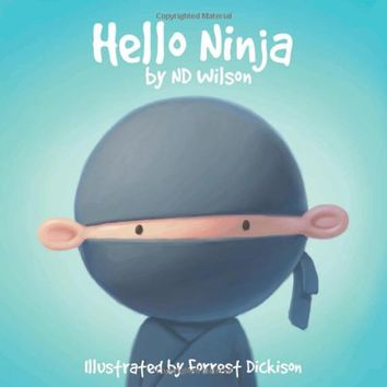 Hello Ninja Board book – December 10, 2013