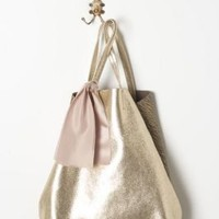 Hammered Gold Tote - Anthropologie.com