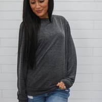 Simply Classic Sweatshirt - Charcoal