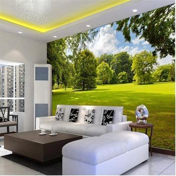 Custom photo wallpaper Large 3D Simple three-dimensional landscape living room bedroom painting mural 3d mural wall paper