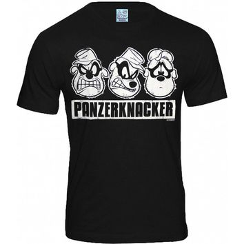 Black M Logoshirt mens T-shirt Disney Panzerknacker