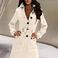 Extravagant Euro Winter Warm Casaco Cashmere Women Long Coat Outwear = 1917132036