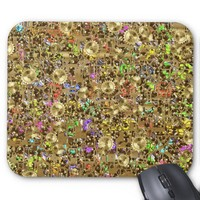 Steampunk Time Tunnel. Traveling in Space and Time Mousepads from Zazzle.com