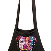 Neon Pitbull Women's Shoulder Bag Black (One Size, Black)