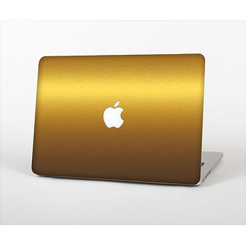 The Gold Shimmer Surface Skin Set for the Apple MacBook Pro 15""