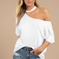 Tia Off Shoulder Tee
