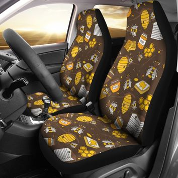 Bee Keeper Car Seat Covers