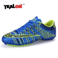 YEALON Man Soccer Shoes Superfly Chaussures Homme Cheap Soccer Boot Cleats Indoor Socc