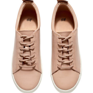 H&M Leather Sneakers $59.95