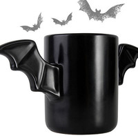 Bat Mug Drink Coffee Tea beer Cup Bruce Wayne Heatproof A Pair Wings The Dark Of Host Ceramic Coffee Batman Mug Cup tumbler