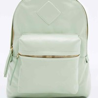AANDD Pettit Leather Backpack in Celadon Mint - Urban Outfitters