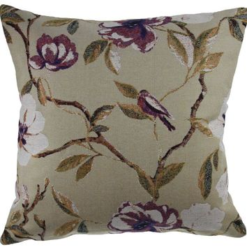 Oh Little Bird Decorative Pillow Cushion Cover