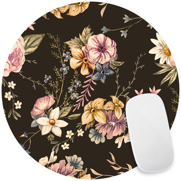 Victorian Flora Mouse Pad Decal