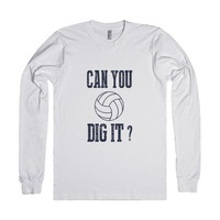 Skreened Can You Dig It Volleyball LS Tee
