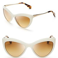 Miu Miu Cat Eye Sunglasses | Bloomingdale's