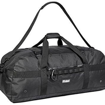 Heavy Duty Extra Large Sports Equipment Traveling Duffel Bag With Adjustable Shoulder & Compression Straps. Great for Team Sport Coaches & Perfect for Soccer, Baseball, Basketball, Football & More