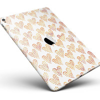 "The Tiny Yellow Hearts of a Whole Full Body Skin for the iPad Pro (12.9"" or 9.7"" available)"