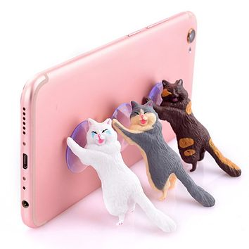 The Hardworking Cats Phone Holder