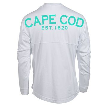 Venley Official Vintage Cape Cod Massachusetts Spirit Wear Jersey T-Shirt