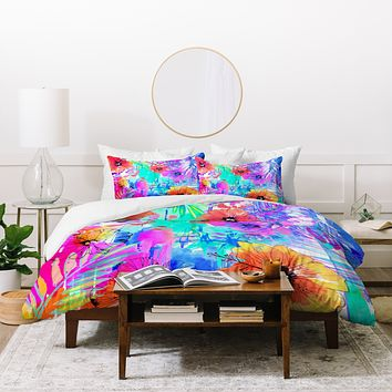 Holly Sharpe Hawaiian Heat Duvet Cover