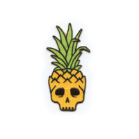 Pinneapple Skull Patch