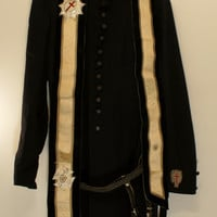 Masonic Victorian Uniform Wool Coat Hat